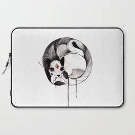 Skull Cat Inktober Laptop Sleeve