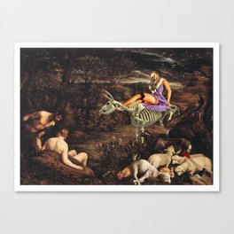 Us and the Animals Canvas Print