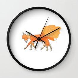 Mitarbeiter des Tages Wall Clock