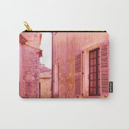 Ancient pink village Carry-All Pouch