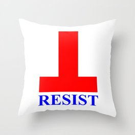 RESIST Compact Throw Pillow
