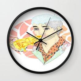 His Fitness Regime Wall Clock