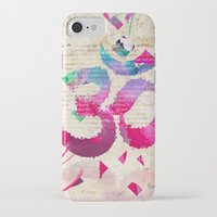 om iPhone & iPod Cases featuring OM by Pranatheory