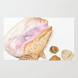 Seashells 01 Rug