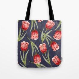 Tulipa pattern 5.1 Tote Bag