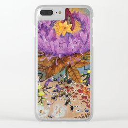 Flower Power (2017) Clear iPhone Case