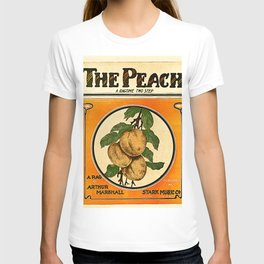 The Peach. A Ragtime Two Step T-shirt