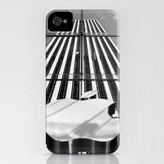 Big Apple - New York City   B/W Slim Case iPhone (4, 4s)