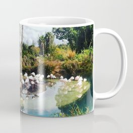 Flamingo Lagoon Coffee Mug
