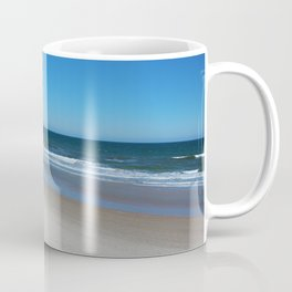 The Beach Awaits You Coffee Mug