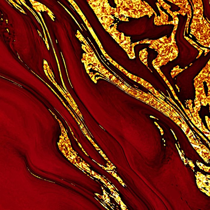 Chic Elegant Fire Red Ombre Glitter Marble Leggings