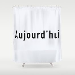 103. Today Shower Curtain