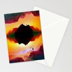 Vibrant Isolation Island Stationery Cards