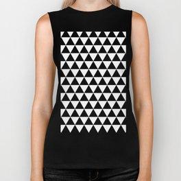 Triangle Tessellation Biker Tank