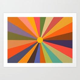 Sun - Soleil Art Print