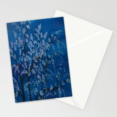 Spring Night Blues II Stationery Cards