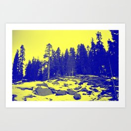 Don't Eat The Yellow Snow! Art Print