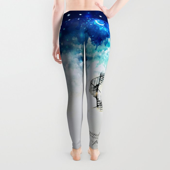 Beyond the clouds | Doctor Who Leggings