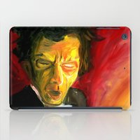 tom waits iPad Cases featuring Mr. Waits by The Being art
