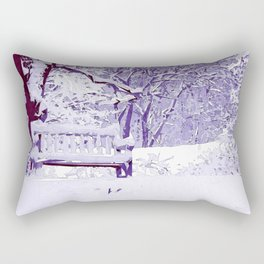 Snow Scenes of Winter Rectangular Pillow