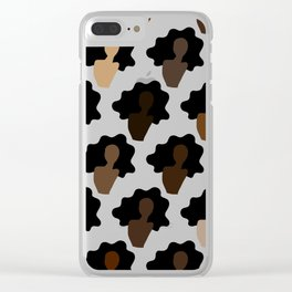 SISTERS Clear iPhone Case