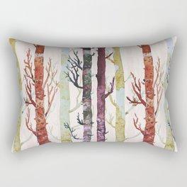 the real florest Rectangular Pillow