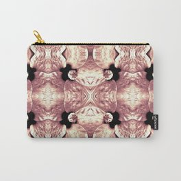 Shiny Old Rose Flower Design, Pattern Carry-All Pouch