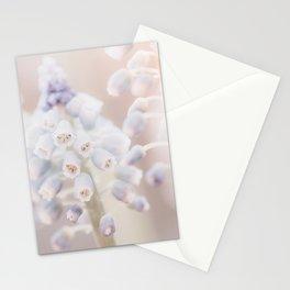 Grape Hyacinth Photo | Plantlife Photography | Atmospheric Muscari Botryoides Close-up Stationery Cards