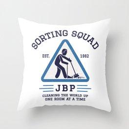 Jordan Peterson - Sorting Squad Throw Pillow