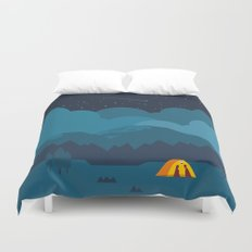 On The night Like This Duvet Cover