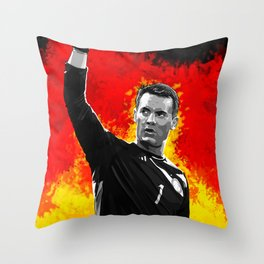 Manuel Neuer - Germany Throw Pillow