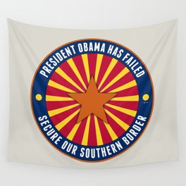 Secure Our Southern Border Wall Tapestry