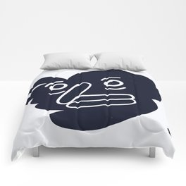 happy face Comforters
