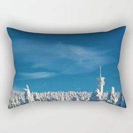 Winter Wonderland - Czechoslovakia Forest Photographic Rectangular Pillow