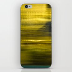 Yellow Lights Speed Effect iPhone & iPod Skin