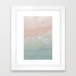 Ocean Walk II Framed Art Print