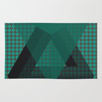 triangle Area & Throw Rugs featuring Triangle*** by Mr and Mrs Quirynen