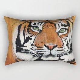 Orange Glow Rectangular Pillow