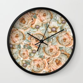 Flower Jungle VII Wall Clock