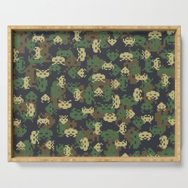 Invaded Camo WOODLAND Serving Tray