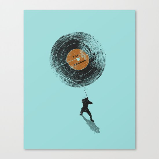 Record Breaker Canvas Print