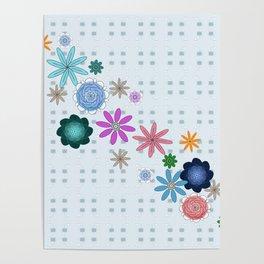 Floral System Poster