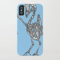 pigeon iPhone & iPod Cases featuring Pigeon by Doe.