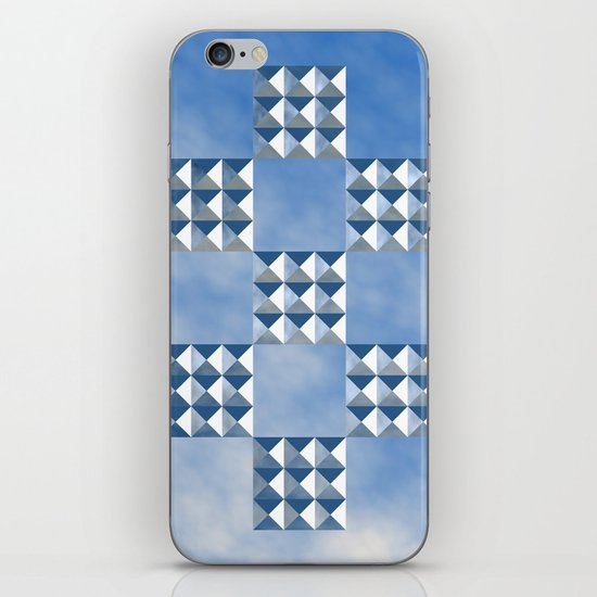 """No Raised Surfaces"" iPhone & iPod Skin"