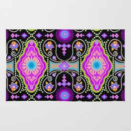 exotic happiness medallions Rug