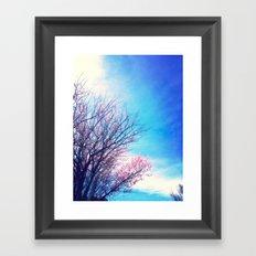 Spring Trees 2 Framed Art Print