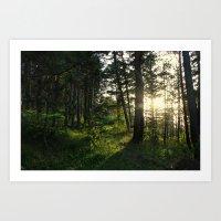narnia Art Prints featuring Entering Narnia by Ananya Ghemawat