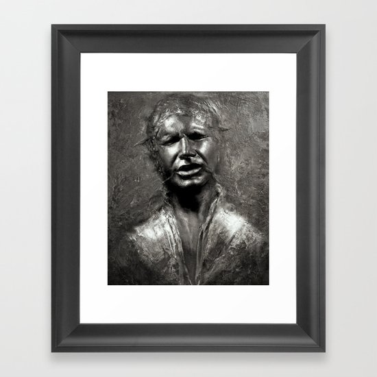 Carbon Copy Framed Art Print