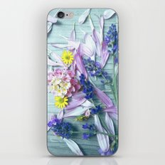Fresh from the meadow iPhone & iPod Skin