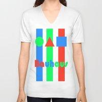 bauhaus V-neck T-shirts featuring Bauhaus by Retale